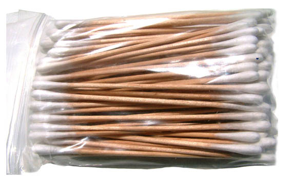 Wooden Cotton Swabs 6 cm