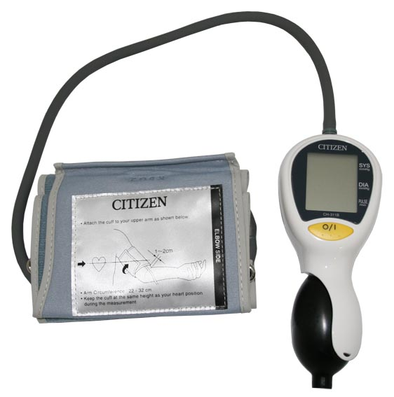 Digital Blood Pressure Monitor Citizen CH-311B