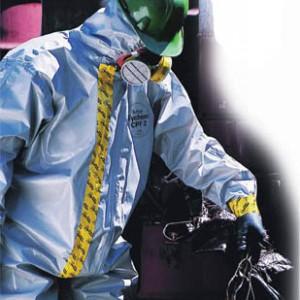 חליפת כימיקלים SPF2 (אפור) XL דופונט