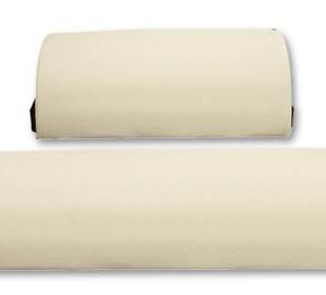 """כרית למיטת עיסוי / טיפול חצי עגולה, ברוחב 15 ס""""מ, אורך 30 ס""""מ עשוייה PVC"""