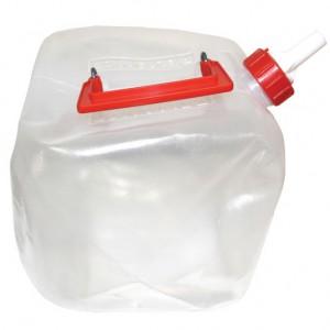 מיכל מים שקוף מתקפל ל-9.5 ליטר