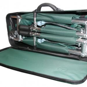 אלונקת אלומינים מתקפלת ל-8 מיוחדת בתיק מזוודה