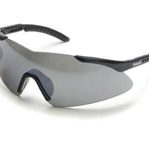 """משקפי מגן אופנתיות ארה""""ב עדשות מראה מסגרת שחורה"""
