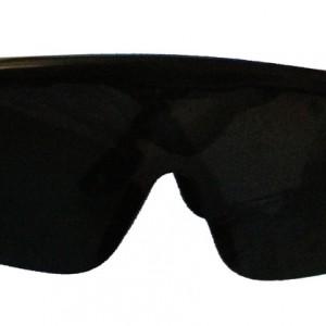 משקפי מגן פשוטות עם עדשה כהה