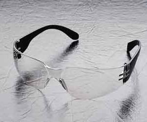 משקפי מגן פשוטות קלות במיוחד עדשות בהירות