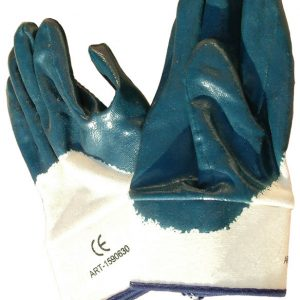 כפפות עבודה לדלק כחולות