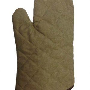 כפפות תנור /כפפות חום קצרות מבנה חזק, עמידות לשחיקה כפפה מתאימה ליד ימין ושמאל