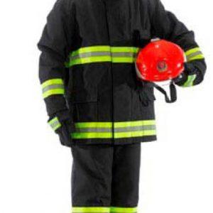חליפת תקיפה תקנית לכבאים : מעיל +מכנס U.PROTEC
