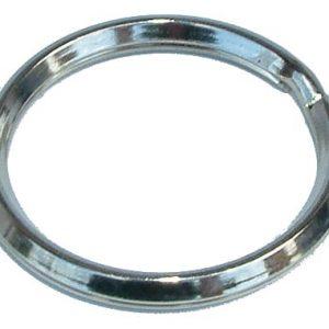 טבעת כפולה למחזיק מפתחות