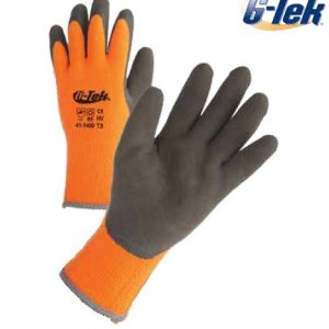כפפות עבודה עמידות לקור, עד מינוס 50 מעלות, מידה PIP G-TEK 10