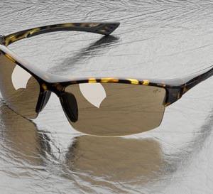 משקפי מגן ושמש עדשות מראה מוזהבות ELVEX SG-350M
