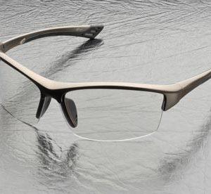 משקפי מגן עדשות בהירות מסגרת חומה ELVEX SG-350C